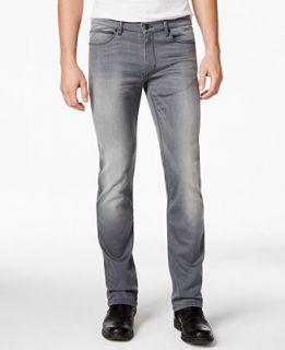 Hugo Boss Mens 708 Gray Wash Jeans   Jeans   Men
