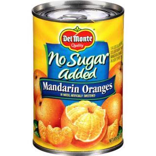 Del Monte No Sugar Added Mandarin Oranges, 15 oz