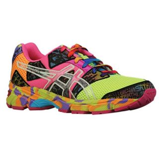 ASICS� GEL Noosa Tri 8   Girls Grade School   Running   Shoes   Flash Yellow/Flash Pink/Multi