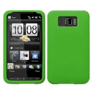 Insten Solid Skin Case (Dr Green) for HTC: HD2