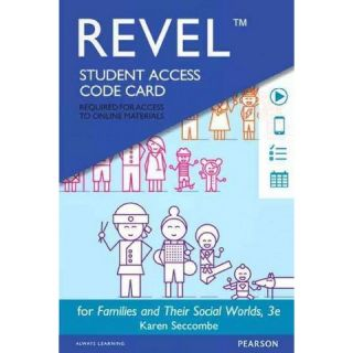 Families and Their Social Worlds Revel A (Student) (Other merchandize
