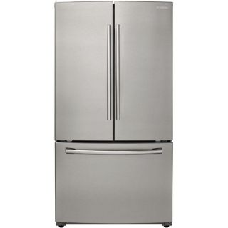 Samsung 25.5 cu ft French Door Refrigerator with Single Ice Maker (Stainless Platinum) ENERGY STAR