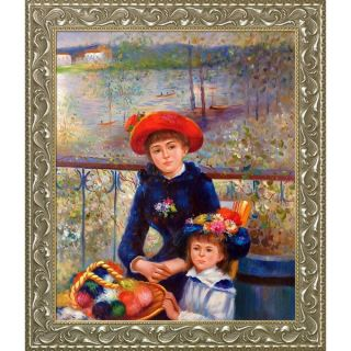 Pierre Auguste Renoir Two Sisters (On the Terrace), 1881 Hand