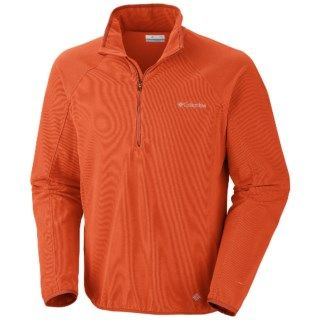 Columbia Sportswear Summit Rush Fleece Pullover (For Men) 6283G