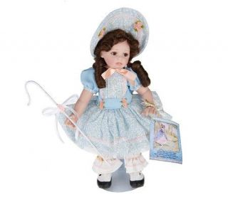 Little Bo Peep Limited Edition 14 Standing Porcelain Doll by Marie Osmond —