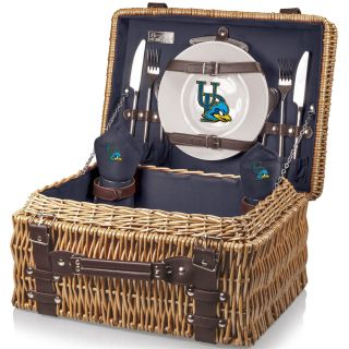 Picnic Time 208 40 138 114 0 Champion University of Delaware Blue Hens Digital Print Basket in Navy