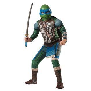Teenage Mutant Ninja Turtles Leonardo Deluxe Muscle Boys Movie