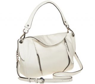 As Is orYANY Danielle Italian Leather Convertible Shoulder Bag —