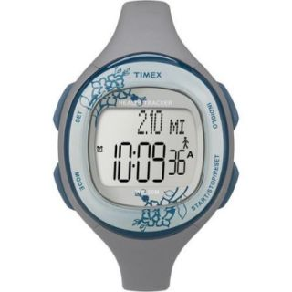 Timex Womens Silicone Health Tracker Midsize Sports Watch