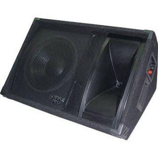 "Pyle Pro PASC12 600W 12"" 2 Way Stage Monitor Speaker PASC12"