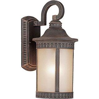 Forte Lighting 1 Light Outdoor Wall Lantern; 13.5 H x 6 W x 8.5 D