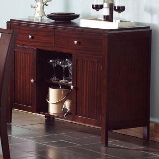 Coaster Furniture 102945 Prewitt Contemporary Server with Open and Closed Storage in Dark Espresso