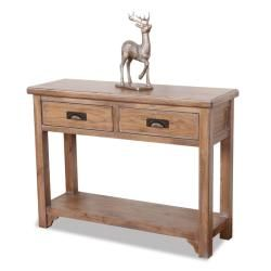 Blanched Oak Sofa Table  ™ Shopping KD