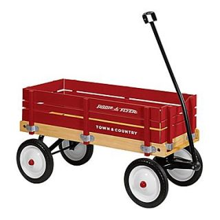 Radio Flyer Town & Country Wagon Ride On