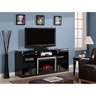 Classic Flame 26MM9404 E451 Albright Electric Fireplace Entertainment Center in Espresso