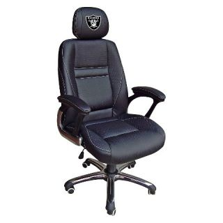 Oakland Raiders Wild Sports Leather Office Chair