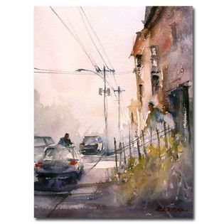 Trademark Fine Art Ryan Radke Old Wautoma Hotel Canvas Art   Home