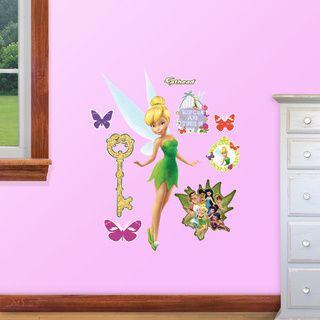 Tinkerbell Peel & Stick Giant Glitter Wall Decal   14228461