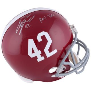Eddie Lacy Alabama Crimson Tide  Authentic Autographed Riddell Replica Helmet With Roll Tide Inscription