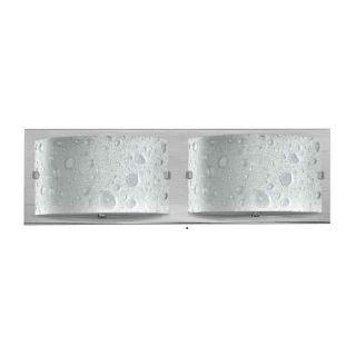 Hinkley Lighting 5922BN Daphne 2 Light Bathroom Fixture in Brushed Nickel