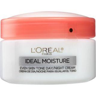 L'Oreal Paris Ideal Moisture Even Skin Tone Day Cream Day/Night Cream, 1.7 oz
