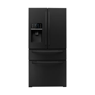 Samsung 26 cu ft French Door Refrigerator with Single Ice Maker (Black) ENERGY STAR