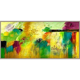 PTM Images Joy and Laughter Abstract Gicl e Framed Painting Print