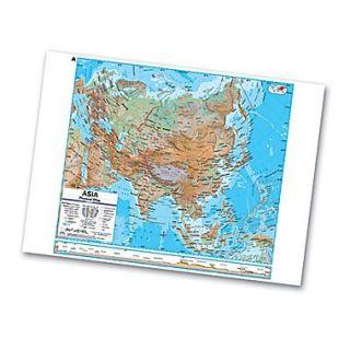 Universal Map Advanced Physical Deskpad   Asia