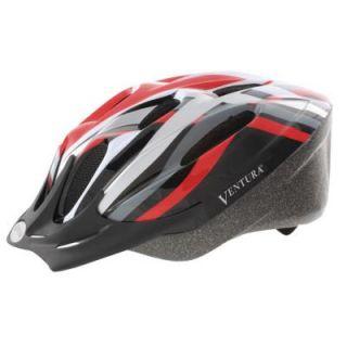 Ventura Heat Sport Medium Bicycle Helmet in Red 731426