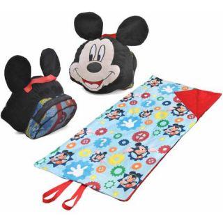 Disney Mickey Mouse On the Go Pillow Convertible Nap Mat