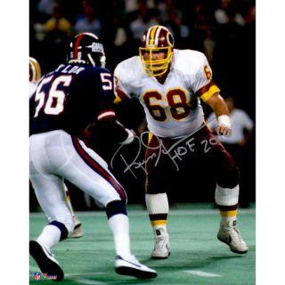 Fanatics Authentic Russ Grimm Washington Redskins Autographed 8 x 10 vs. Giants Photograph with HOF Inscription