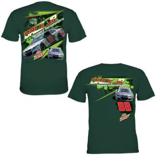 Chase Authentics Dale Earnhardt, Jr. Chassis T Shirt   Forest Green