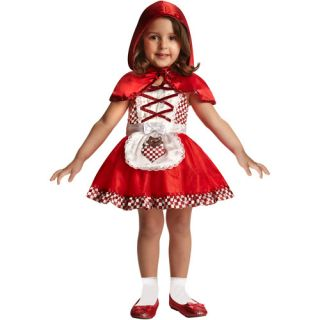 Little Miss Riding Hood Toddler Halloween Costume