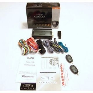 Avital Avistart 4113LXL 1 Button Auto Remote Car Start Starter 4113L 4113LX