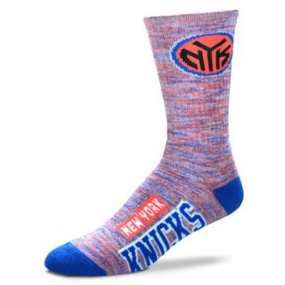 New York Knicks For Bare Feet Womens Promo Quarter Length Socks