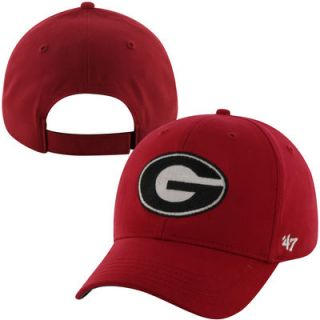 47 Brand Georgia Bulldogs Youth Basic Hat   Red