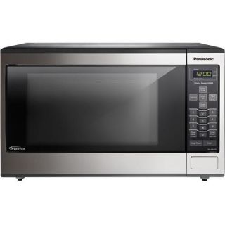 Panasonic NN SN643S Family Size Microwave W/ Inverter Technology And Turbo Defrost