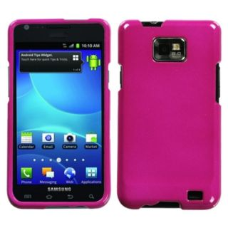 INSTEN Solid Hot Pink Protector Phone Case Cover for Samsung Galaxy S2
