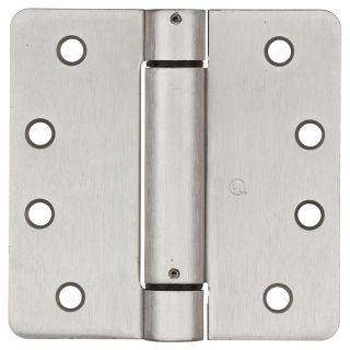 Stanley National Hardware 4 in H Satin Nickel Interior/Exterior Mortise Door Hinge