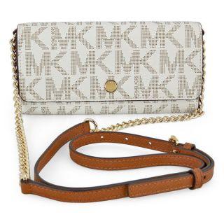 Michael Kors MK Signature Vanilla Wallet On a Chain   17581334