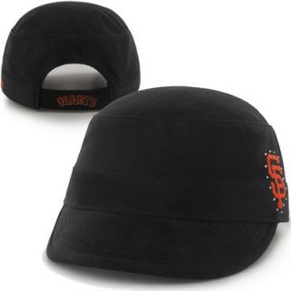 47 Brand San Francisco Giants Youth Girls Betty Cadet Adjustable Hat   Black