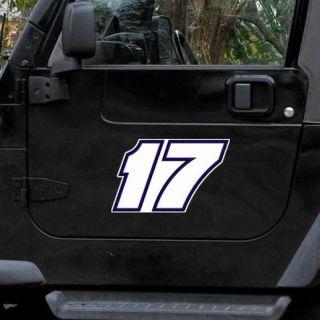 Matt Kenseth 12 Driver Number Car Magnet
