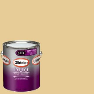 Glidden DUO Martha Stewart Living 1 gal. #MSL072 01S Tahini Semi Gloss Interior Paint with Primer DISCONTINUED MSL072 01S