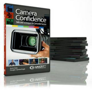 Vasst DVD: Camera Confidence: Skills and Techniques CAMC