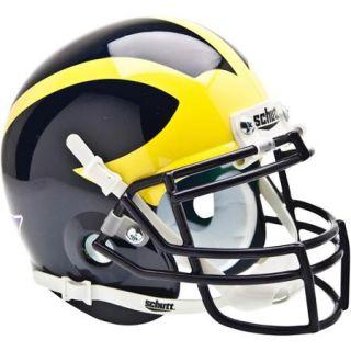 Shutt Sports NCAA Mini Helmet, Michigan Wolverine