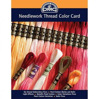 Needlework Threads Printed Color Card   6728807