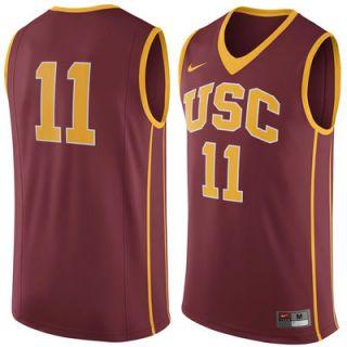 #11 USC Trojans Nike Replica Jersey   Cardinal