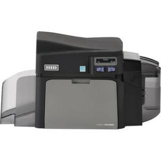 Fargo DTC4250e Single Sided ID Card Printer with Ethernet, 52000