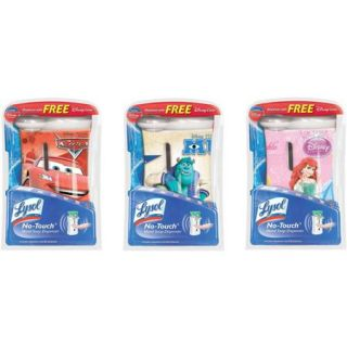 Lysol No Touch Automatic Hand Soap Dispenser, Disney Gadget, 1 Count