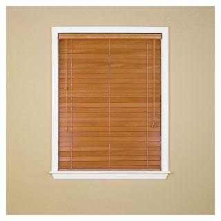 Custom Size Now by Levolor 2 in Honey Pine Faux Wood Room Darkening Plantation Blinds (Common 65 in; Actual: 64.5 in x 72 in)